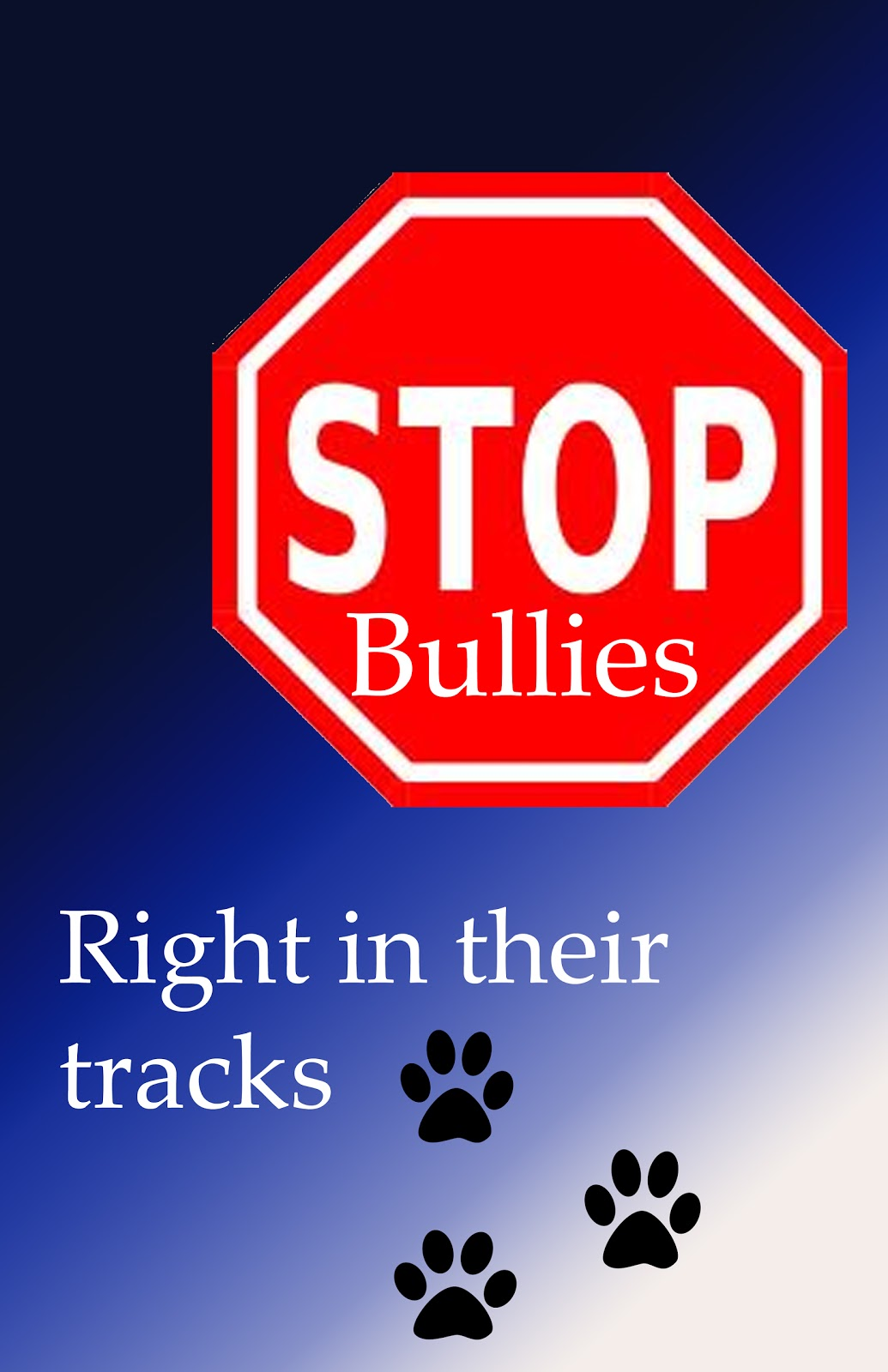 stop bullying Bullying is a major problem that we haven't been able to stop, every year more and more people become bullied at school and online, if we take a stand against bullying and not encouragedit i believe that we can put an end to it.