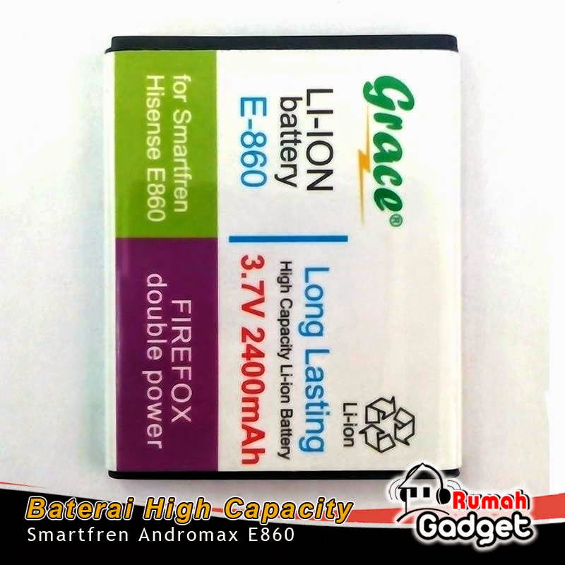 Baterai Smartfren Andromax E860 2400mAh GRACE Double Power