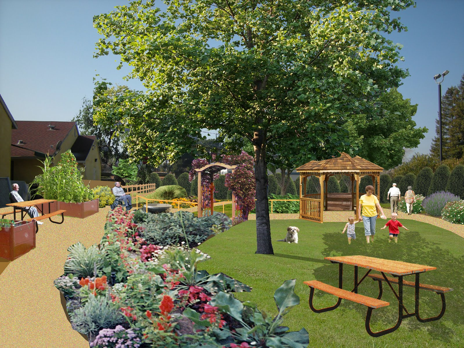 essay healing gardens-places for nature in health care