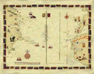 Portulano Tratado de Tordesillas
