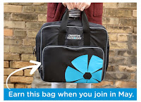 Free CM Bag when you join in May