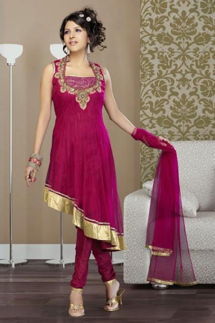 Churidar Shalwar Kameez Designer