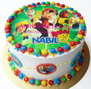 RAINBOW CAKE with Edible Image