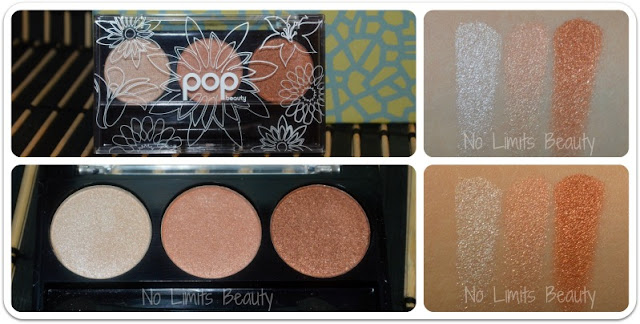 BirchBox Julio 2015 - Pop Beauty - Eye Shadow Trio en Peach Parfait