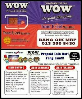 BISNES TONE EXCEL MODAL RM90