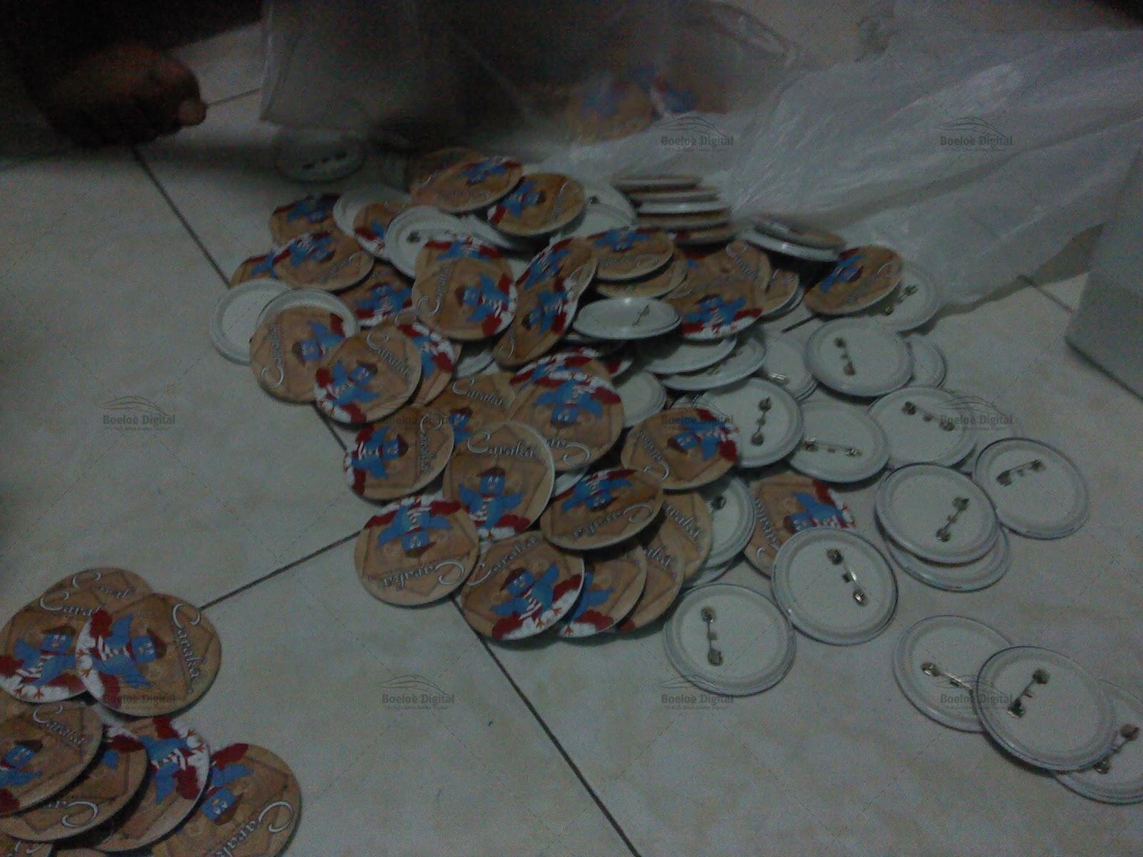 Terima Order: 2500 PIN dari Sekolah SMK N 1 PURWOSARI PASURUAN