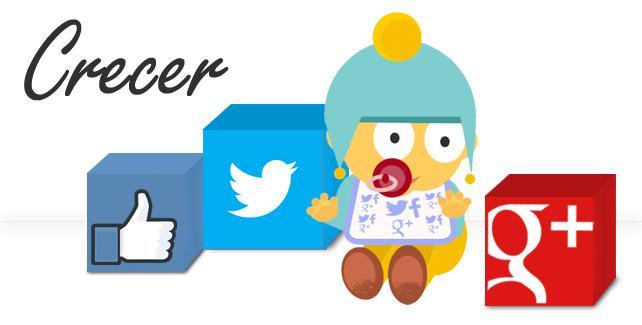 Crecer en las redes sociales.