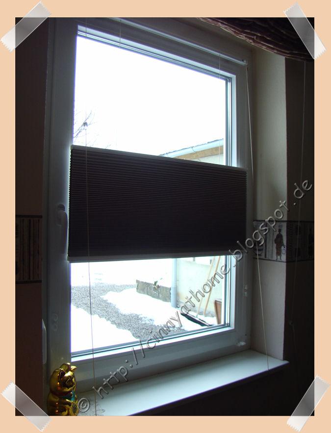 cinny home produkttest plissee duette. Black Bedroom Furniture Sets. Home Design Ideas