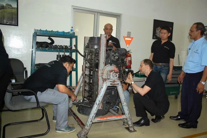 Pelatihan Mercedes Benz - IPOMI