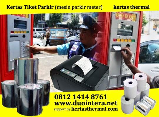 Kertas Tiket, Kertas Tiket Parkir, Kertas Mesin Parkir, Jual Kertas Thermal, Jual Kertas Parkir, mesin parkir otomatis