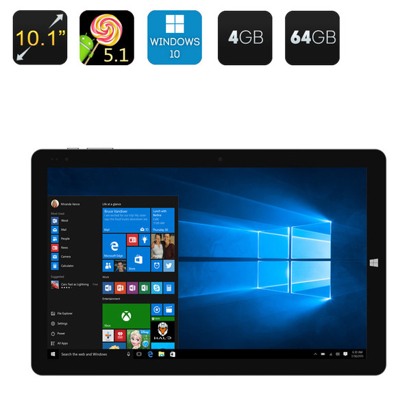 Ultrabook Tablet PC - Windows 10 + Android