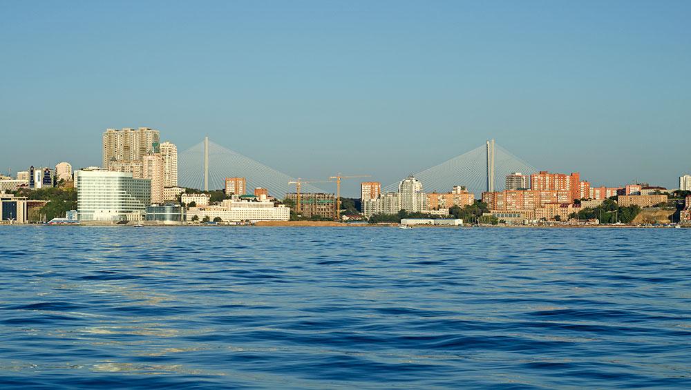 море, Владивосток, морская прогулка