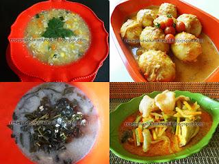Resep Aneka Masakan Berkuah Santan Praktis