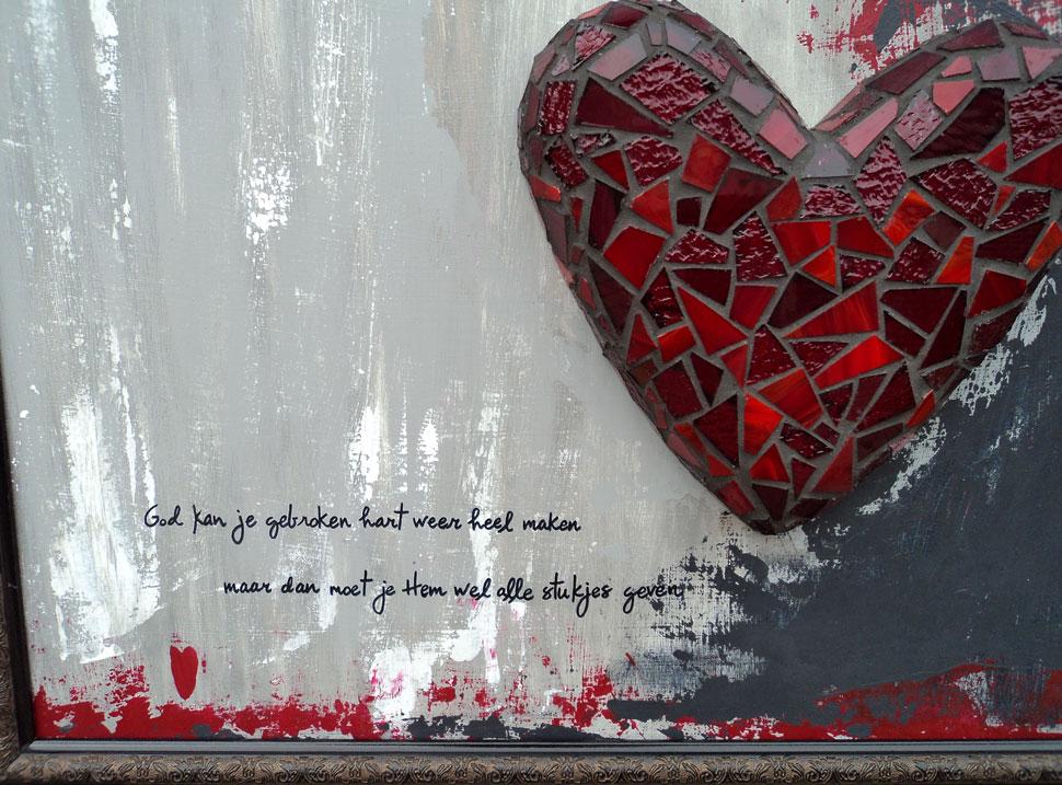 """Keuken Rood Schilderen : Op de site van Cobi van der Hoeven las ik eens de tekst: """"Alle"""
