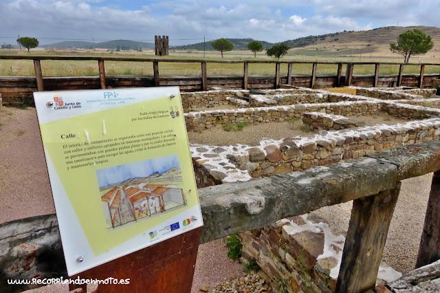 Yacimiento campamentos romanos Petavonium