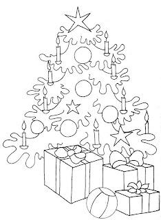 Arbolito para navidad para pintar para niños