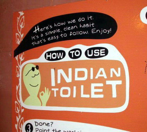 HOW TO USE INDIAN TOILET FUNNY