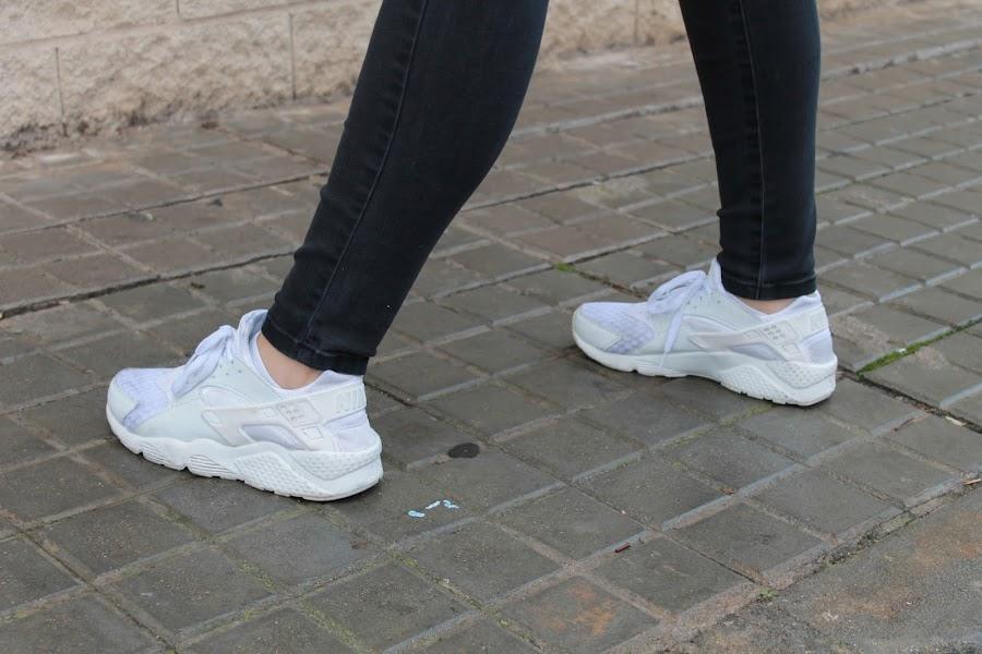 Nike Huarache Blancas Y Rosas