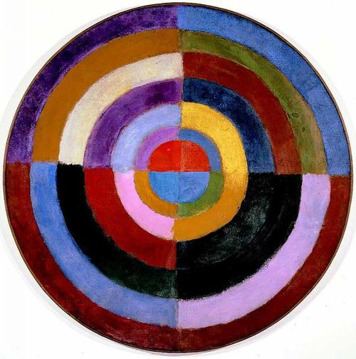 Arte orphism sonia and robert delaunay for Abstract art definition for kids