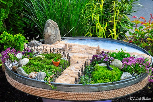 A Garden Inspired By The Beach