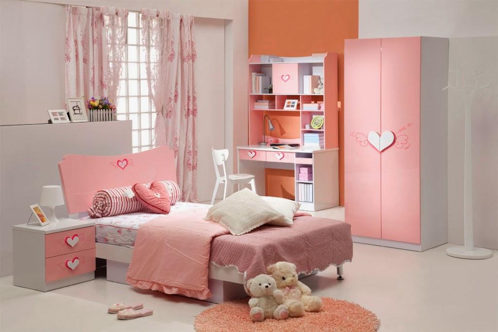 Desain kamar anak tema teddy bear lovelly