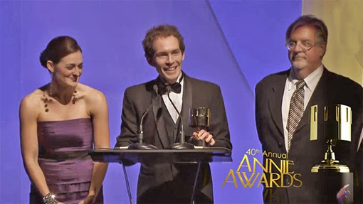 The Annie Awards ceremony is my favorite award show named after an orphan who was born without eyeballs.