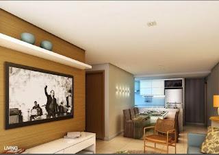 miramar residencial - living