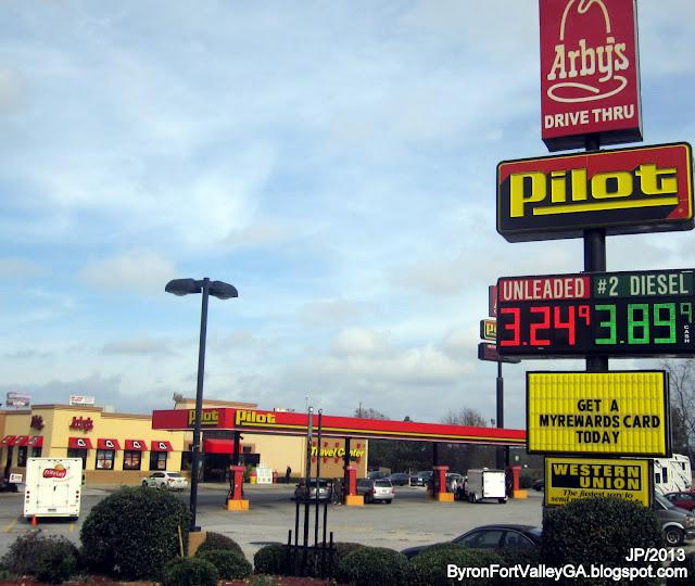 Diesel Gas Near Me >> BYRON FORT VALLEY GEORGIA Peach University GA. Restaurant Attorney Bank Dr.Hospital Fire Dept ...