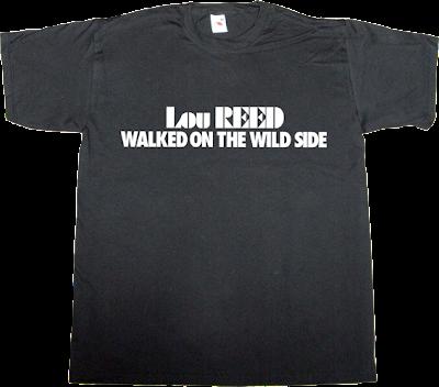 lou reed tribute rock music velvet underground t-shirt ephemeral-t-shirts