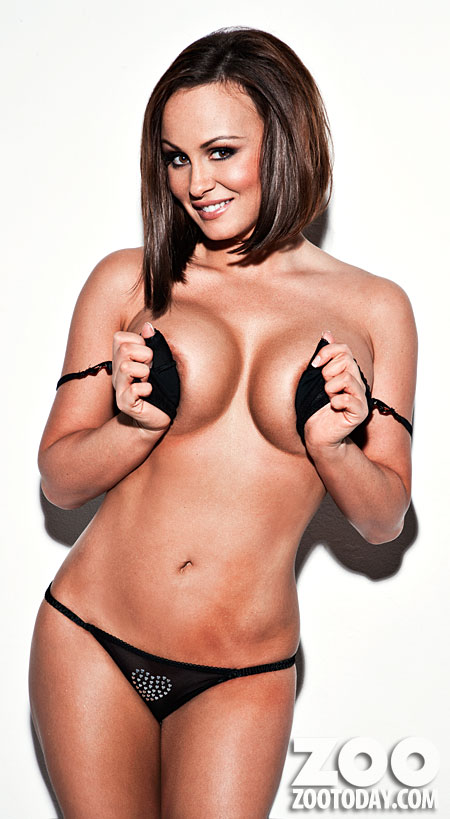 Sexy Model Chanelle Hayes