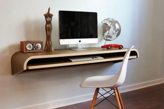 Bureau suspendu par orange22 design lab ~ créatif design