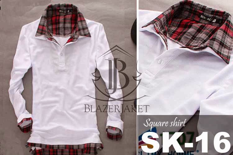 Korean Square Shirt Style blazerjaket blazer jaket
