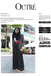 Featured In La Mode Outre - Street Style Fashion Photography From Asia by James Bent 25/08/2011