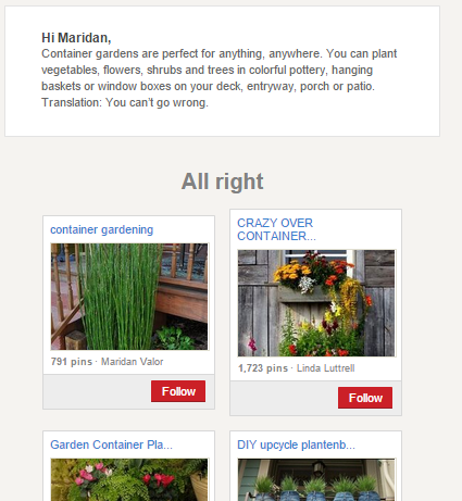What happens if you are featured in Pinterest's emails. part two.