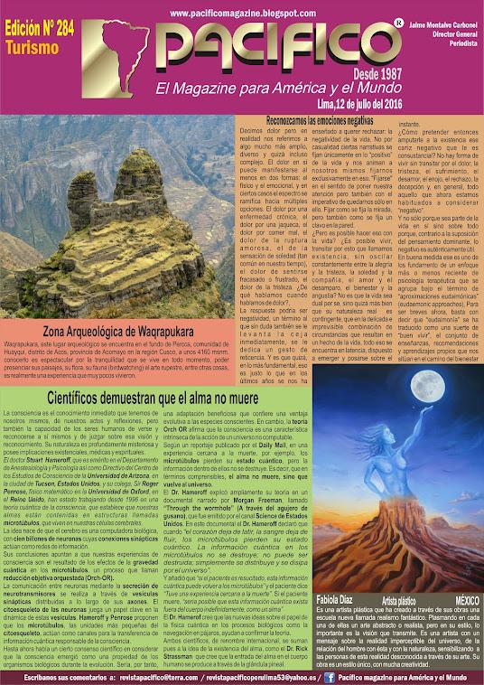 Revista Pacífico Nº 284 Turismo