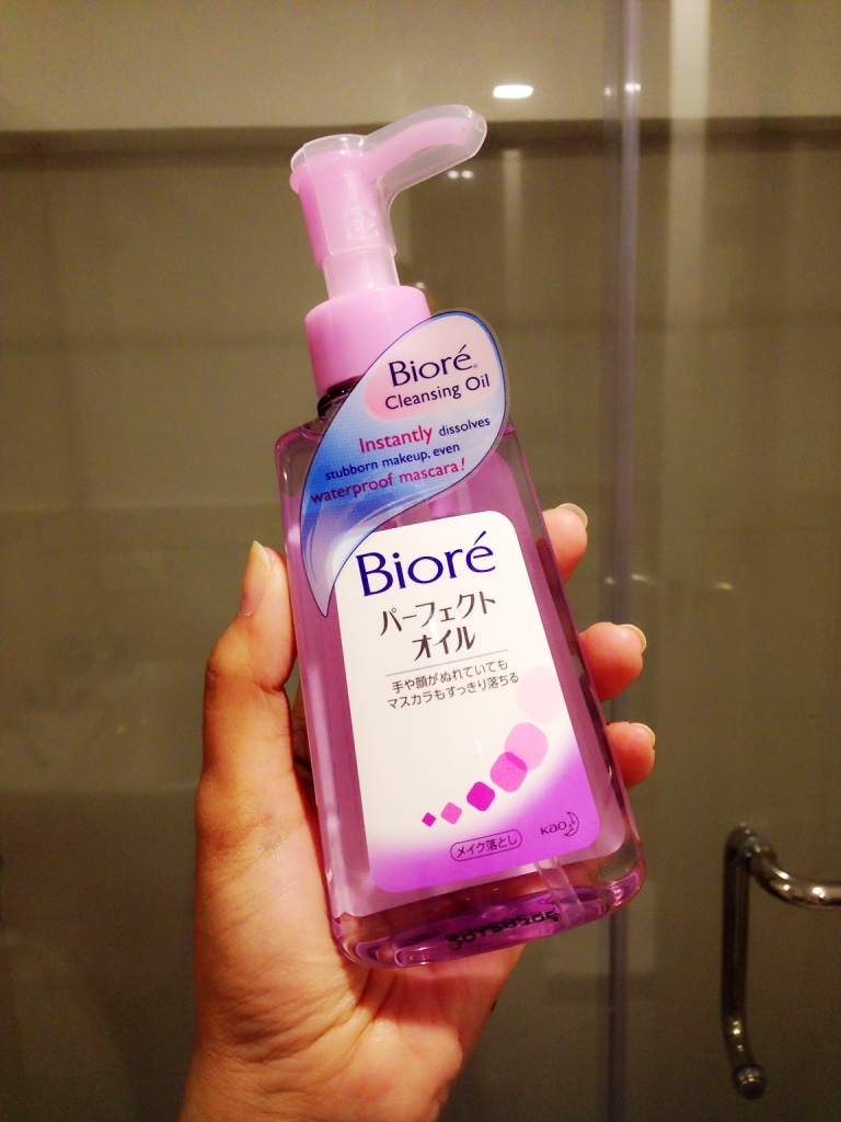 Biore Cleansing Oil Makeup Remover | For Urban Women | Asiau0026#39;s Experiential Lifestyle U0026 Travel Portal