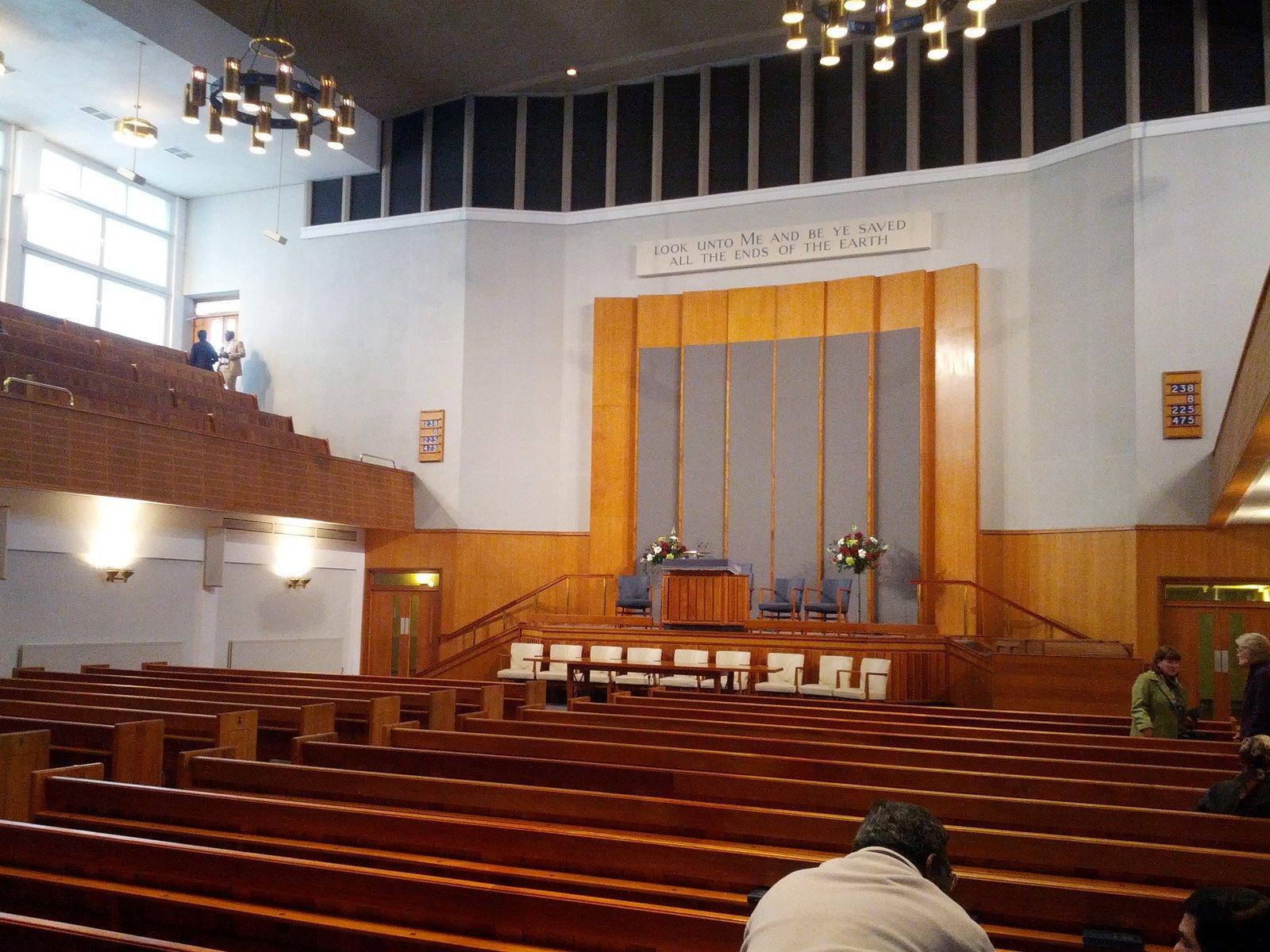 Optima Travel: Metropolitan Tabernacle, London, England