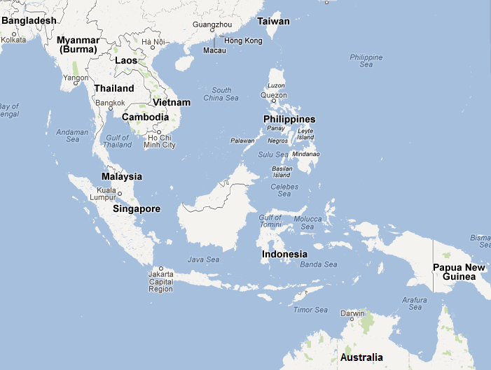 Where Is Singapore: Singapore Where Is It On Map At Infoasik.co