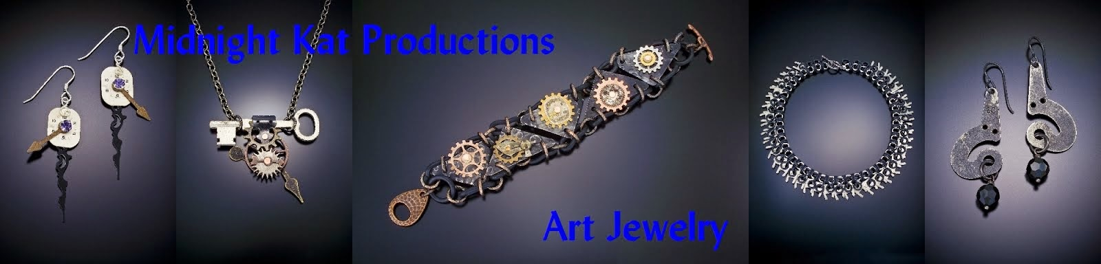 Midnight Kat Productions Art Jewelry