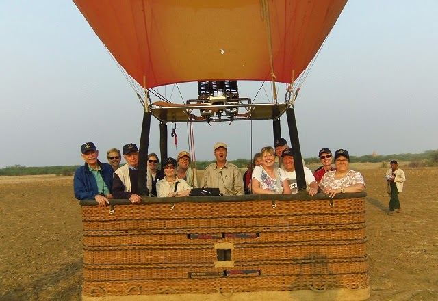 Myanmar Hot Air Ballon