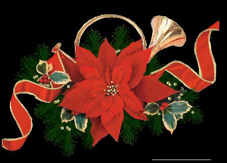 Im genes y gifs animados im genes de flores de navidad for Figuras navidenas para decorar