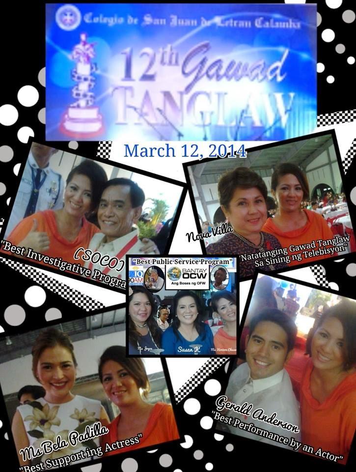 12th Gawad Tanglaw Award
