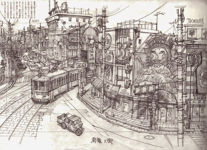 05-Teikoku-Shounen-Architectural-Drawings-in-Color-and-Black-and-White-www-designstack-co