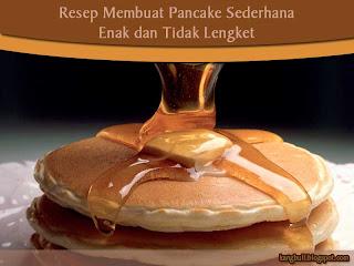 resep membuat pancake sederhana
