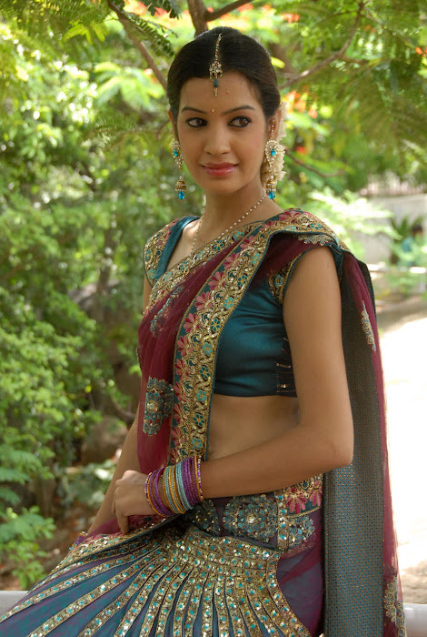 diksha panth new saree , diksha saree hot images