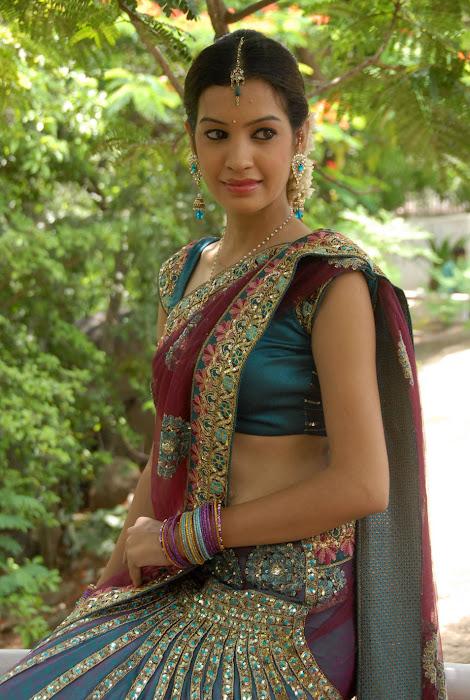 diksha panth new saree , diksha saree hot images