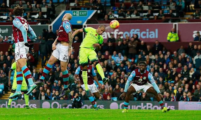 Hasil laga Aston Villa 0-0 Manchester City
