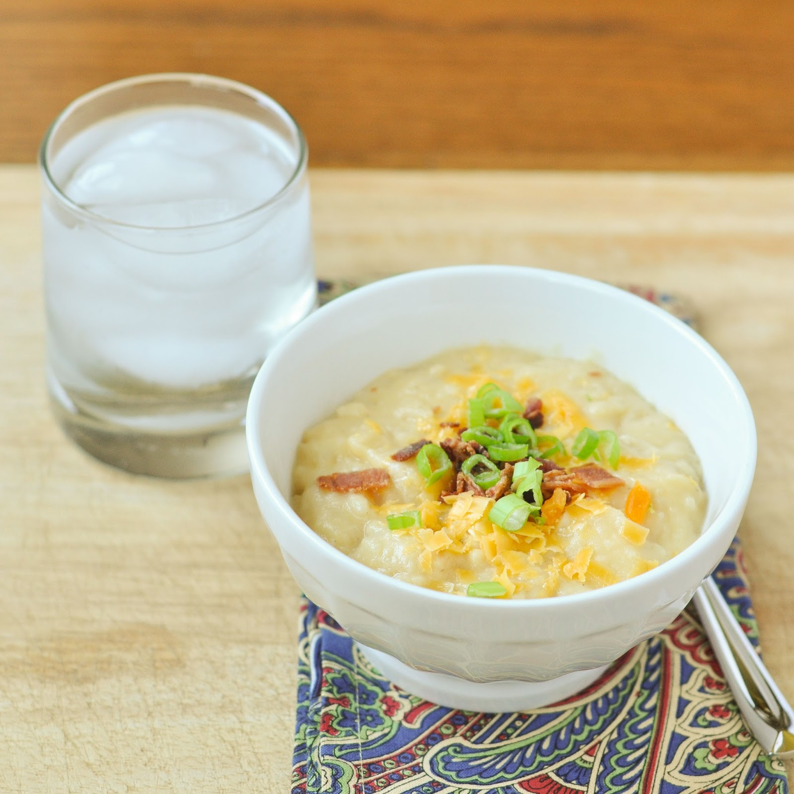 Good Thymes and Good Food: Loaded Baked Potato Soup - Slow Cooker