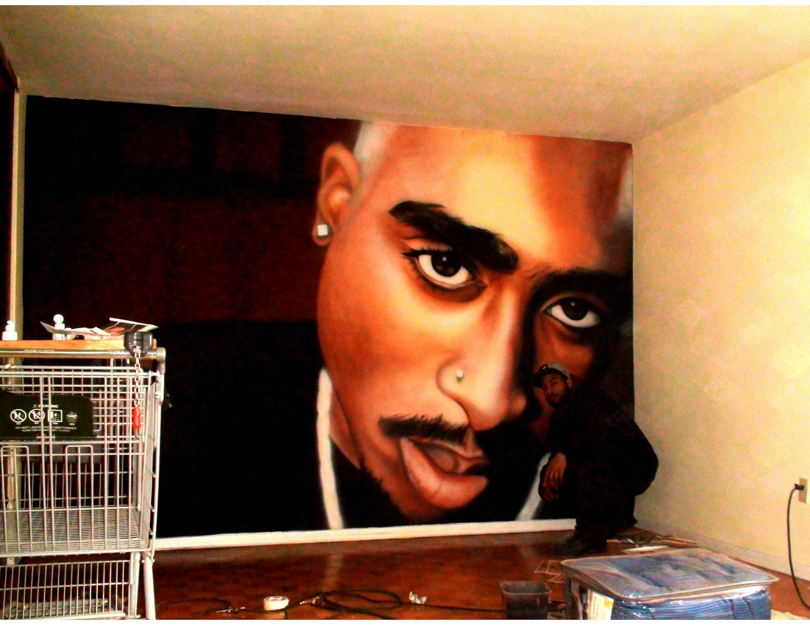 2talented ink may 2012 tupac 2pac rap hip hop poster wall mural print on paper