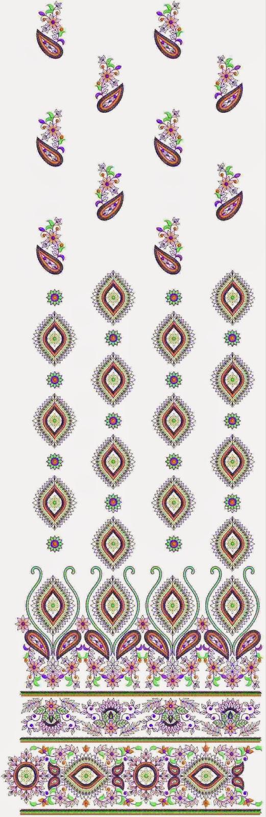 loralie borduurwerk Kurti rok